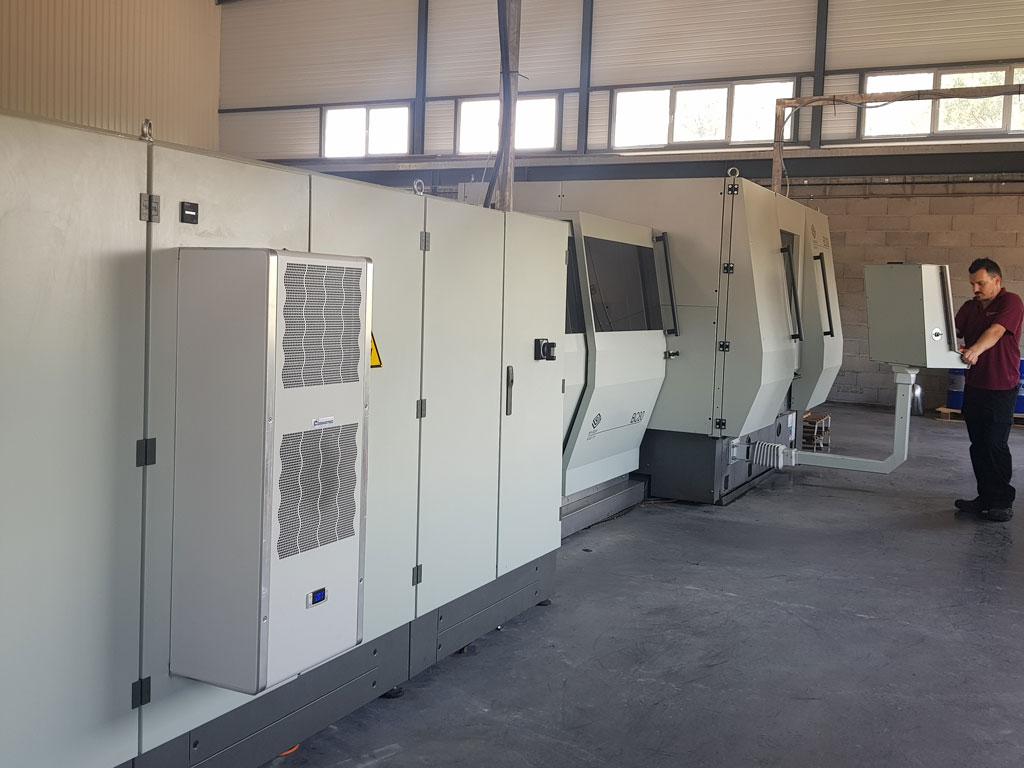 Dalcoupe - Notre parc machine - Externalisation de découpe - Fourniture de produits sidérurgiques semi-ouvragés