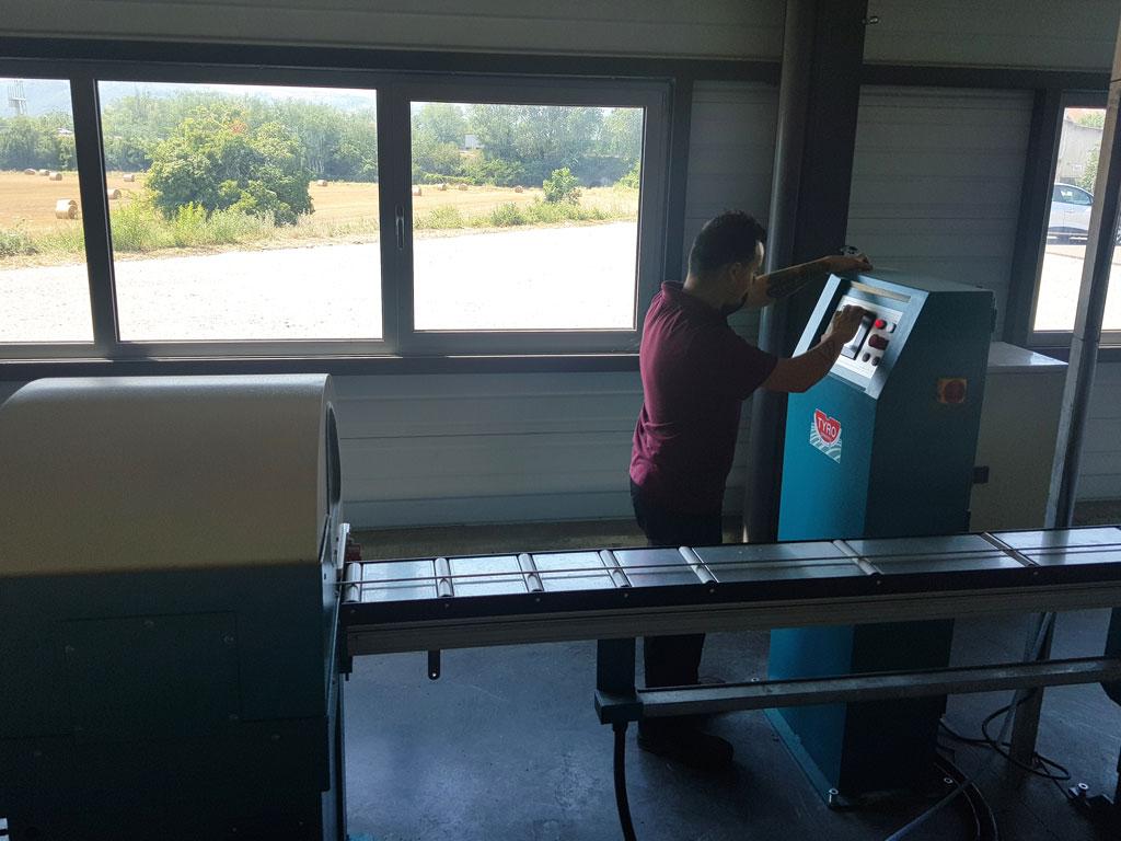 Dalcoupe - Notre parc machine - Fourniture de produits sidérurgiques semi-ouvragés