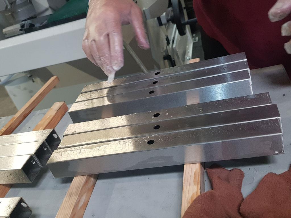Dalcoupe - Produits travaillés - Tubes acier, inox, alu et métaux nobles - Fourniture de produits sidérurgiques semi-ouvragés - Fourniture de produits sidérurgiques semi-ouvragés